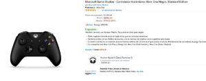 Amazon Oferta Control Xbox One