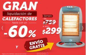 Famsa Oferta Calefactores