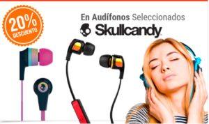 RadioShack Oferta Audífonos Skullcandy