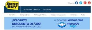 Best Buy Promoción Mercado Pago