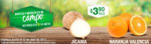 Comercial Mexicana Ofertas Martes y Miércoles del Campo Abril 11