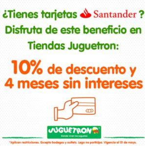 Juguetron Promoción Santander