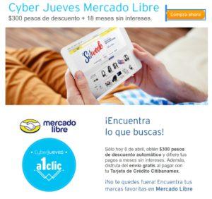 Mercado Libre Cyber Jueves Abril 4