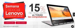 Office Depot Semana Especial Lenovo