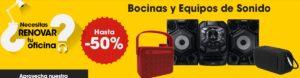 OfficeMax Oferta Bocinas y Equpos de Sonido