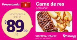 Soriana Oferta Carne de Res Abril 4