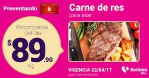 Soriana Oferta Carne de Res Abril 22