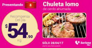 Soriana Oferta Chuleta