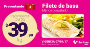 Soriana Oferta Filete Basa Congelado