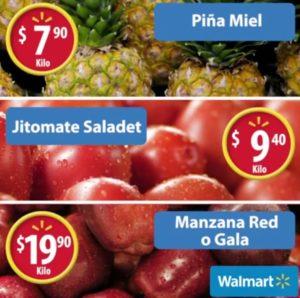 Walmart Ofertas Martes de Frescura Abril 18