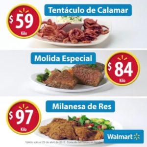 Walmart Ofertas Martes de Frescura Abril 4