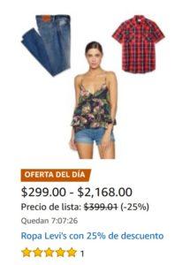 Amazon Oferta Ropa Levi's