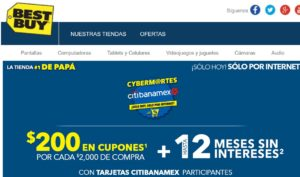 Best Buy Cyber Martes Banamex Mayo 23