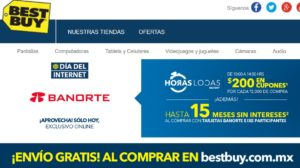 Best Buy Horas Locas con Banorte
