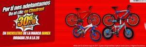 Chedraui Oferta Bicicletas Bimex