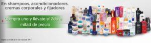 Comercial Mexicana Oferta de Shampoos Acondicionadores y Más