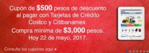 Costco Promoción Cupón Banamex Mayo 22
