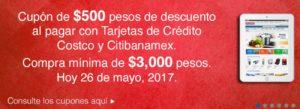 Costco Promoción Cupón Banamex Mayo 26