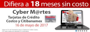 Costco Promoción MSI Banamex Mayo 16