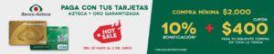 Elektra Promoción Banco Azteca Hot Sale 2017