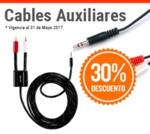 RadioShack Oferta de Cables Auxiliares
