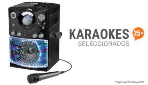 RadioShack Oferta Karaokes