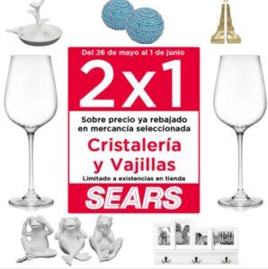 Sears Oferta Vajillas y Cristalería