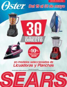 Sears Oferta de Licuadoras y Planchas