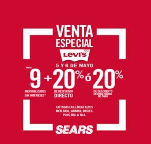Sears Venta Especial Levi's