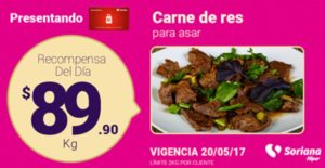 Soriana Oferta Carne de Res Mayo 20