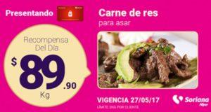 Soriana Oferta Carne de Res Mayho 27