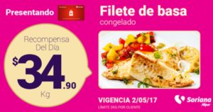 Soriana Oferta Filete Basa Mayo 2