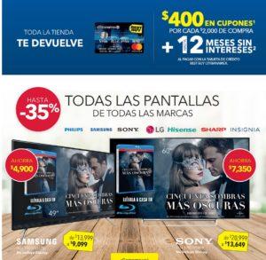 Best Buy Oferta Pantallas