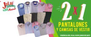Julio Regalado 2017 Oferta Pantalones y Camisas