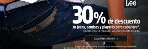 Coppel Oferta Jeans, Camisas y Playeras Lee