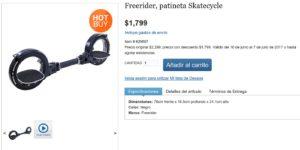 Costco Oferta Freerider Skatecycle