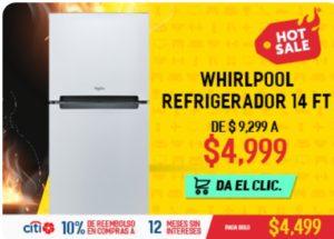 Elektra Oferta Refrigerador Whirpool