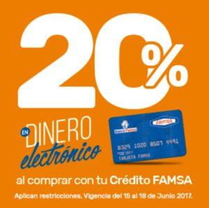 Famsa Promoción Dinero Electrónico