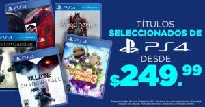 Gamers Oferta de Juegos Seleccionados de PS4
