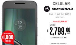 RadioShack Oferta Moto G4 Play