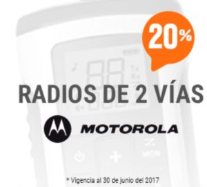 RadioShack Oferta de Radios Motorola