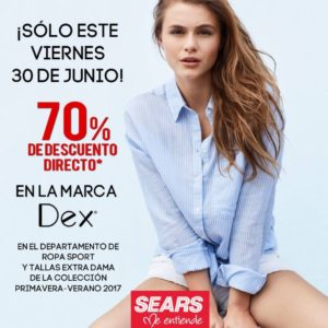 Sears Oferta Ropa Dex