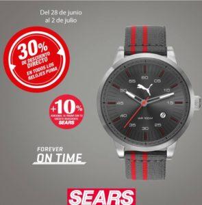 Sears Oferta de Relojes Puma