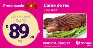 Soriana Oferta Carne de Res Junio 3