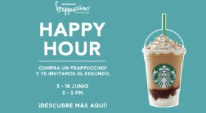 Starbucks Happy Hour Junio 5