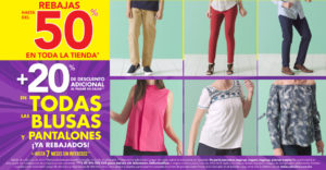 Suburbia Oferta Blusas y Pantalones