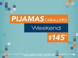 Suburbia Oferta de Pijamas Weekend