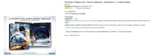 Amazon Oferta King of Fighters PS4