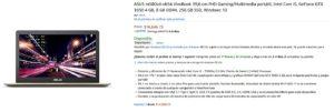 Amazon Oferta Laptop Asus