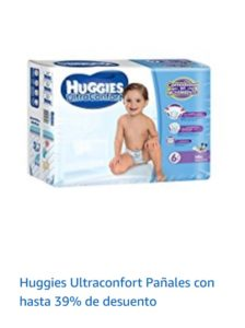 Amazon Oferta de Pañales Huggies